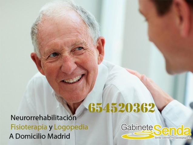 Rehabilitación neurológica tras Ictus en Madrid: Fisioterapia y Logopedia a domicilio