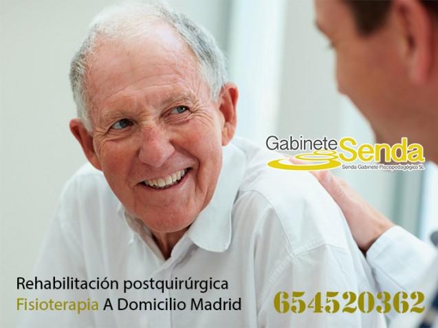 Rehabilitación neurológica a domicilio en Madrid